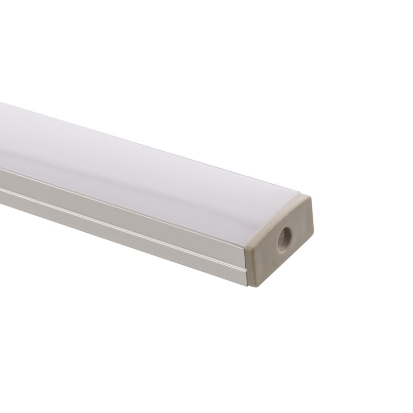 profil aus aluminium 1m f r led strips 120 leds m b39 ledkia deutschland. Black Bedroom Furniture Sets. Home Design Ideas