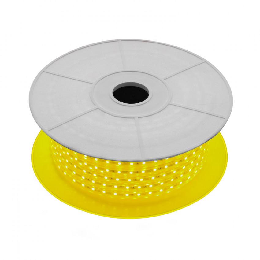 LED-Streifenrolle Dimmbar 220V AC 60 LED/m 50m Gelb IP65 Schnitt jede 100cm