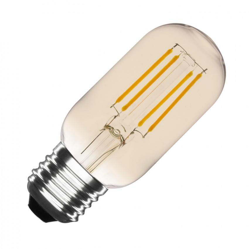 led lampe e27 t45 3 5w filament gold tory dimmbar ledkia. Black Bedroom Furniture Sets. Home Design Ideas