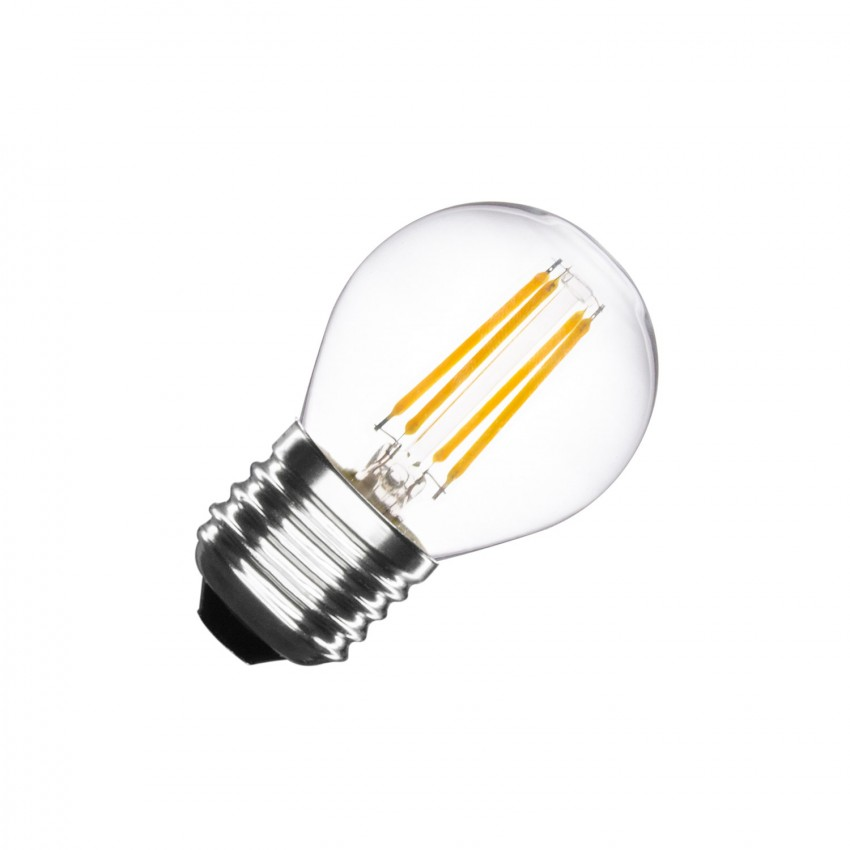 LED-Glühbirne E27 Filament G45 4W