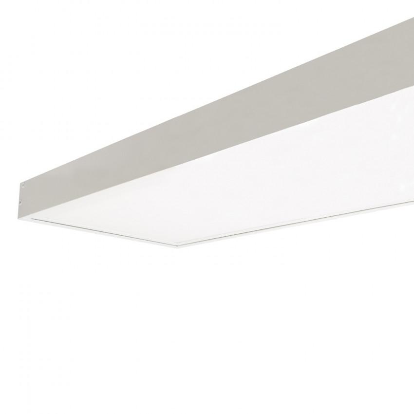 LED-Panel 120x30cm 40W 4000lm (UGR17) + Oberflächenbausatz