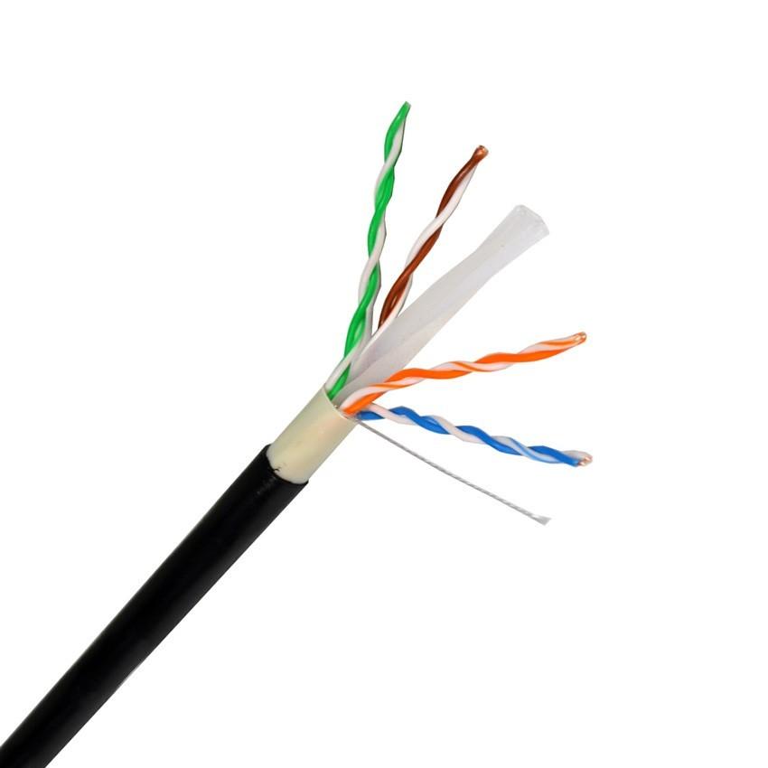 305 Meter Kabel UTP CAT6 Kupfer/ Aluminium für Außen - Ledkia ...