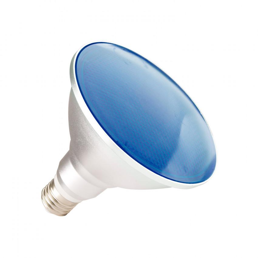 Ampoule LED E27 PAR38 15W Waterproof IP65 Lumière Bleue