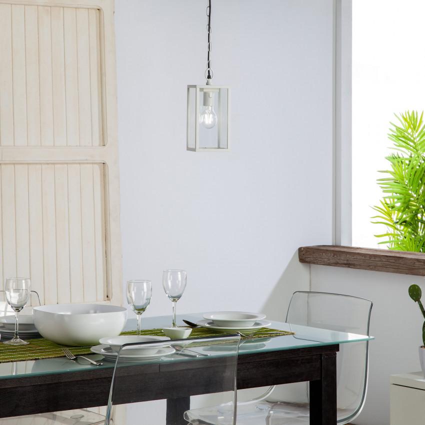 Lampe Suspendue Atrium Blanche