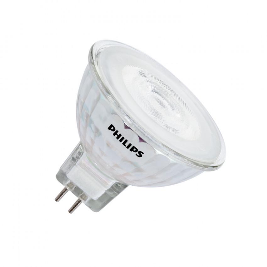 Ampoule LED GU5.3 MR16 Dimmable PHILIPS 12V SpotVLE 5.5W 36º
