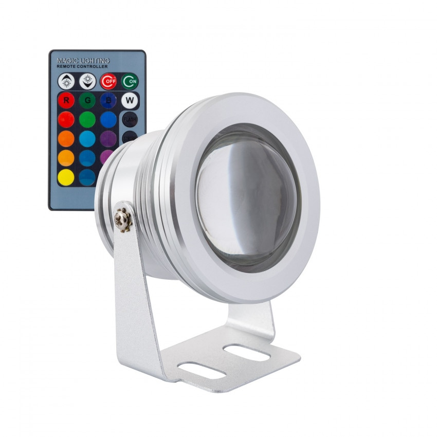 Spot LED Fixation au Sol RGB 12V 7W