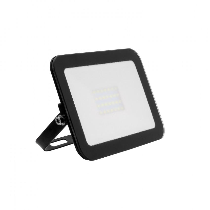 Projecteur LED Slim Crystal 20W Noir