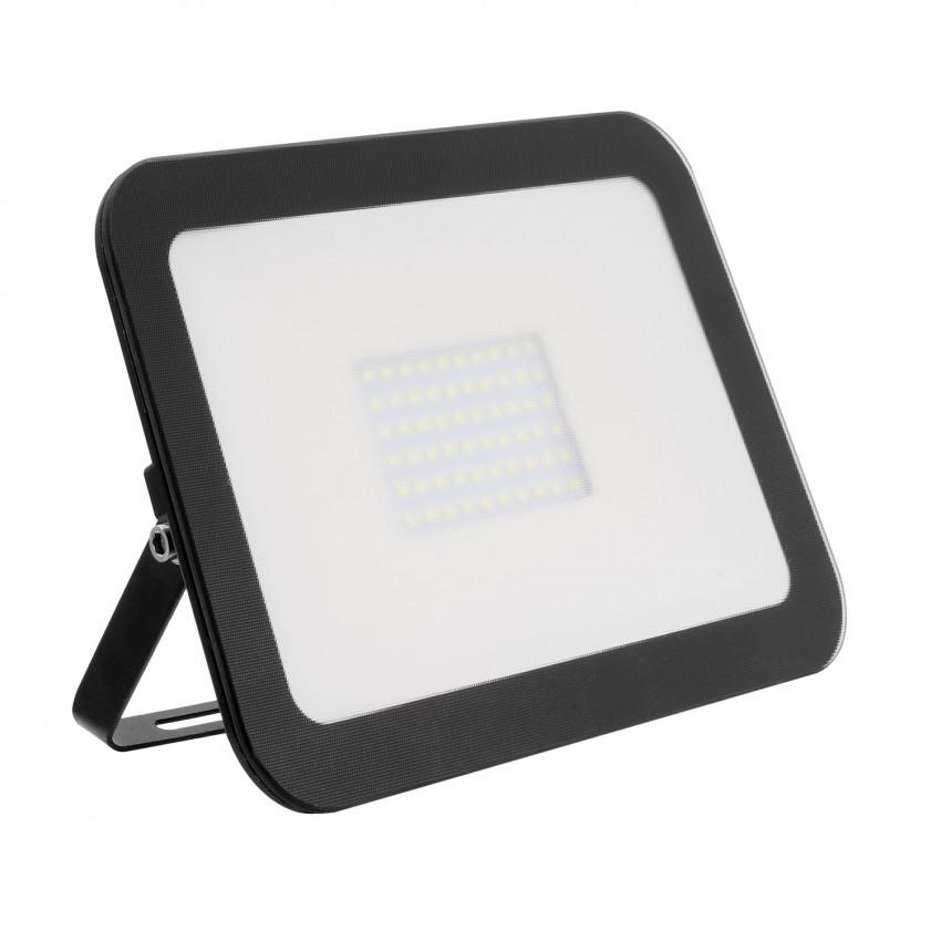 Projecteur LED Extra-Plat Crystal 50W Noir