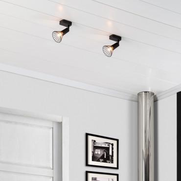 Spot Royal 1 Applique Noir Orientable Murale jAR435L