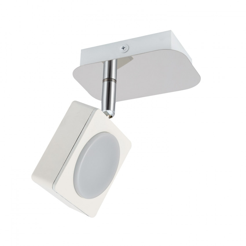 Applique LED Murale Orientable Capri 1 Spot 6W Blanc