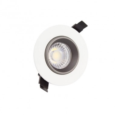 Spot LED Downlight COB Orientable 360º Rond 7W Design