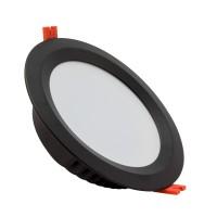 Downlight LED SAMSUNG 120lm/W Aéro 24W Noir LIFUD