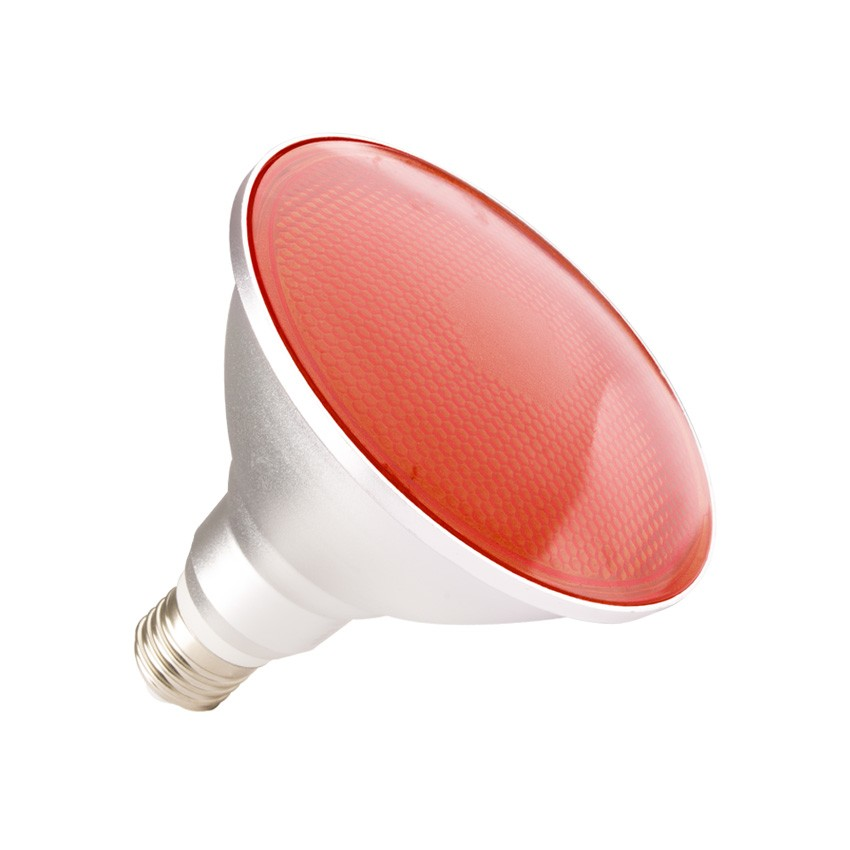 Ampoule LED E27 PAR38 15W Waterproof IP65 Lumière Rouge