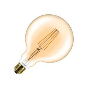 Filament Gold Ampoule G120 Dimmable Globe 8w Philips Cla Led E27 lJFcK1