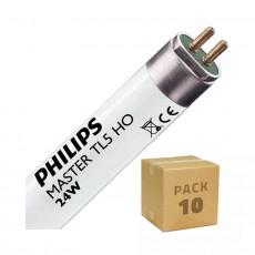 Tube fluorescent Philips T5 HO 600mm Connexion des 2 côtés 24W