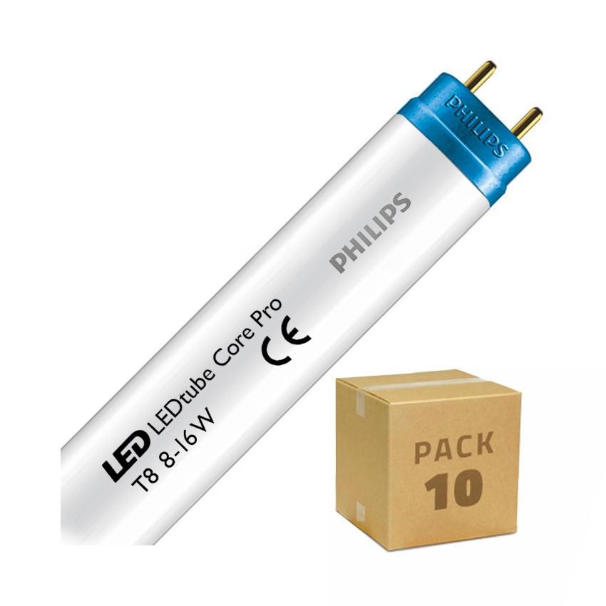 Pack Tubes LED PHILIPS CorePro T8 600mm Connexion Latérale 8W 100lm/W (10 Un)