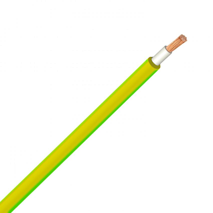 Câble 6 mm² PV ZZ-F Jaune/Vert
