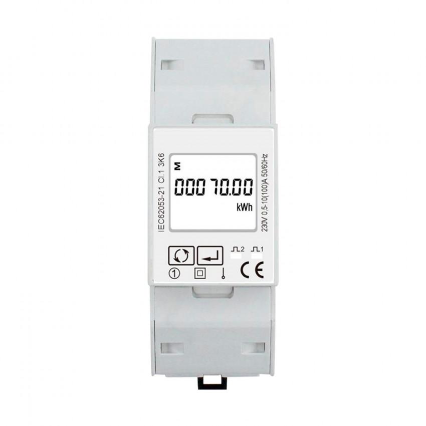 Compteur d'Énergie Bidirectionnel Monophasé Direct MAXGE 100A