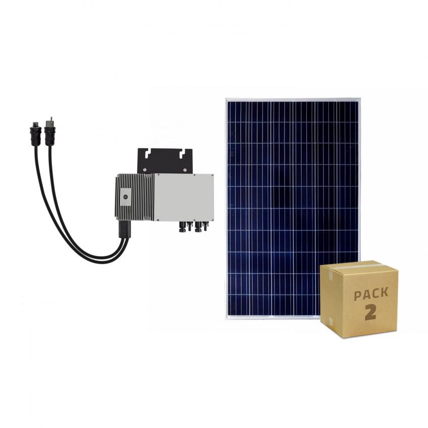 Pack Panneaux Solaire Photovoltaïque Polycristallin 320W BYD Class A + Micro-Onduleur 600W