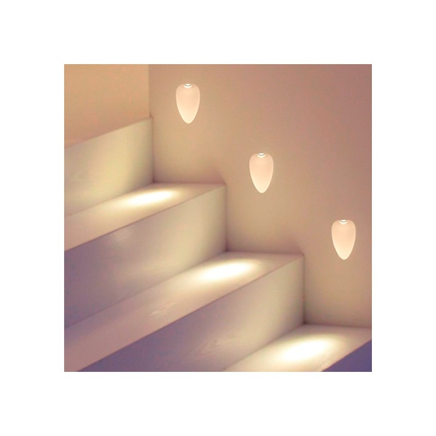 Intégration Mural LED Hopal 1W