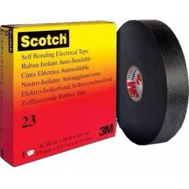 Ruban Isolant Auto-soudable Scotch 23 3M 19mm x 9.15m