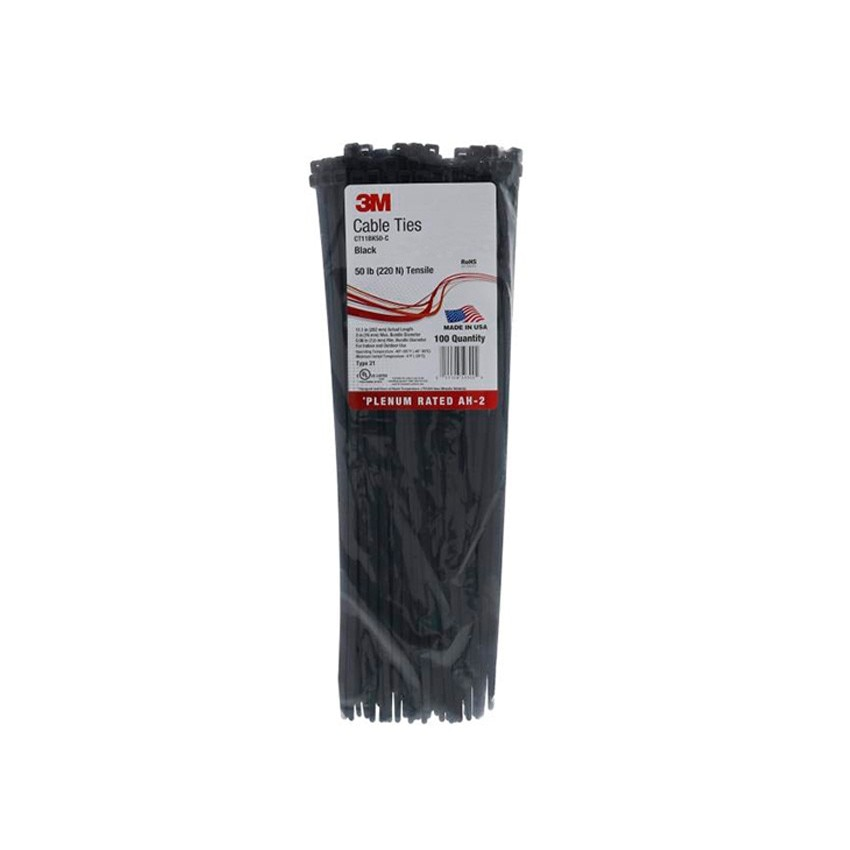 Colliers de Serrage pour Extérieur Scotchflex™ 3M™ FS 280 BWC C-C 3,5mm x 280 mm