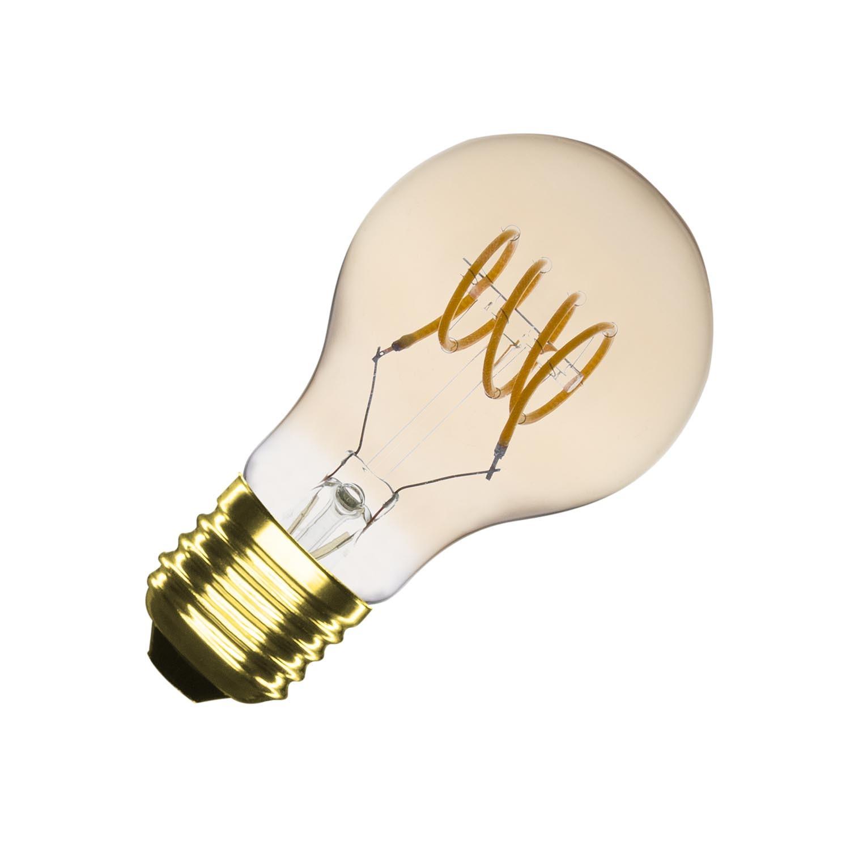 Bombilla LED E27 Regulable Filamento Gold Divi A60 2W