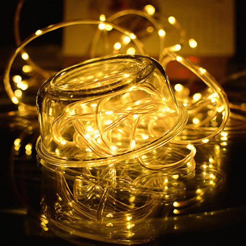 Guirlande de Ruban LED avec Chargeur Solaire 11m