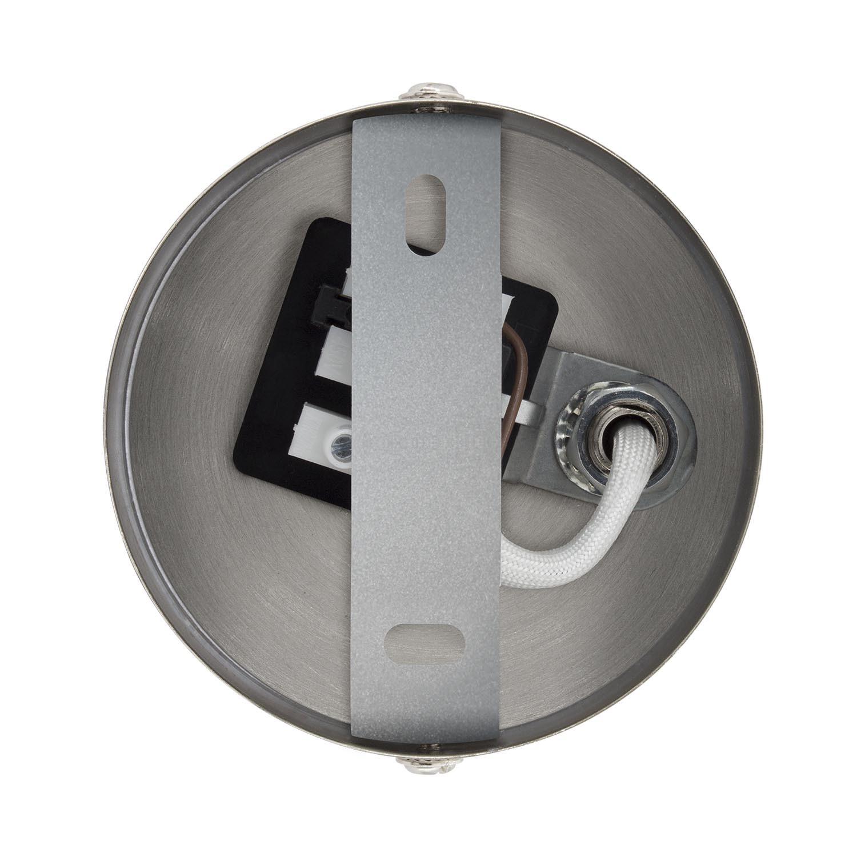 Foco Orientable Emer 2x Plata
