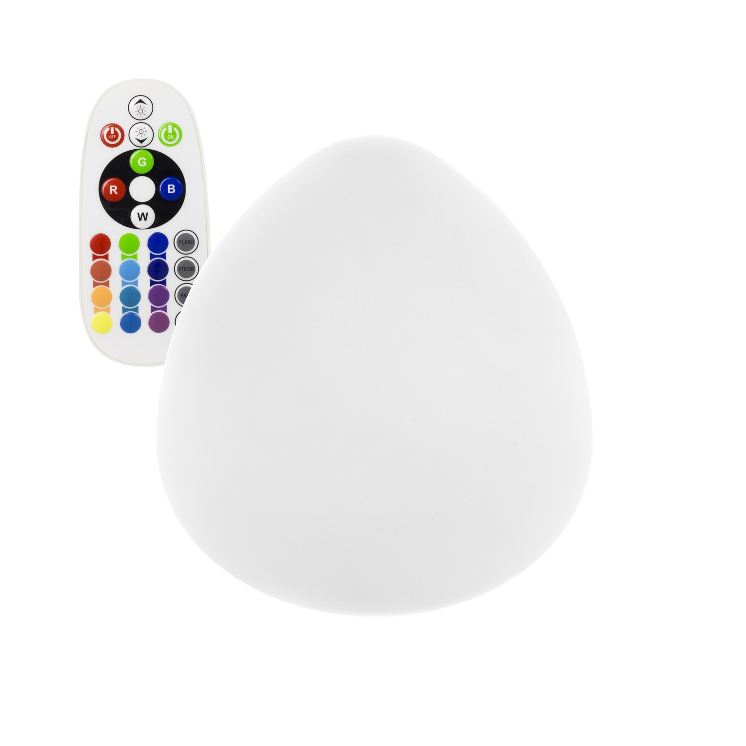 Oeuf LED RGB  Rechargeable