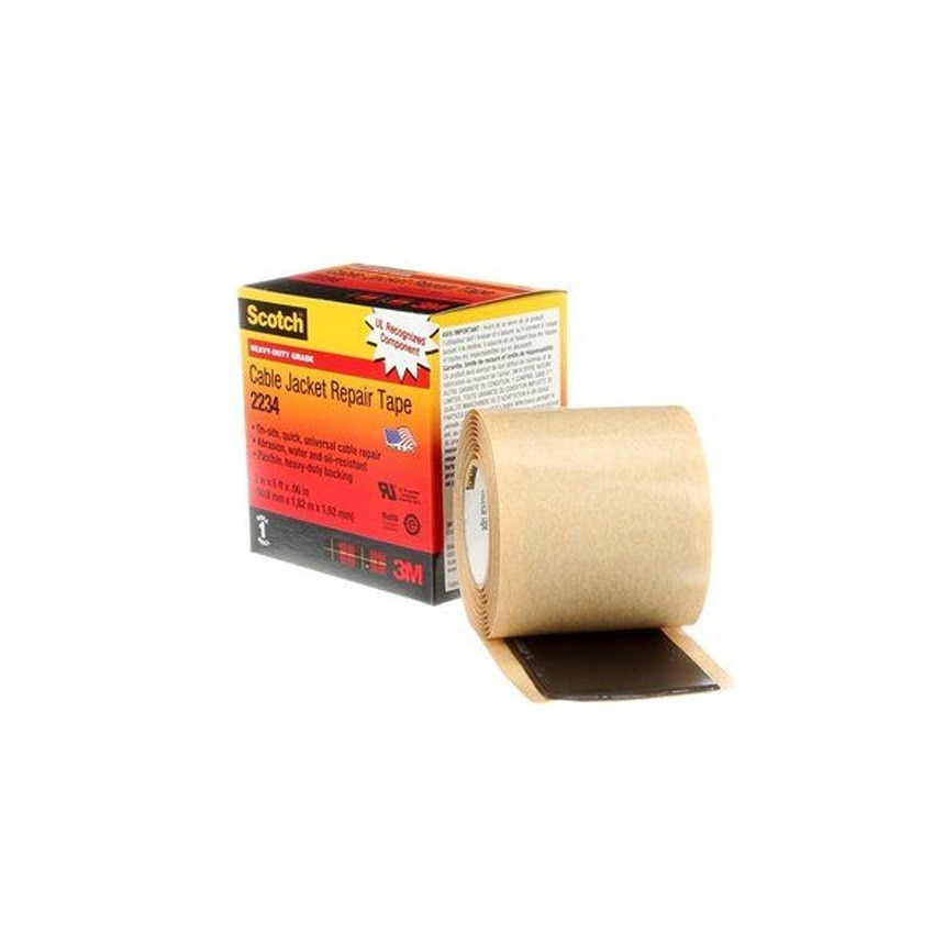 Ruban de Réparation de Gaines pour câbles Scotch® 2234 3M™ 50mm x 1.8m