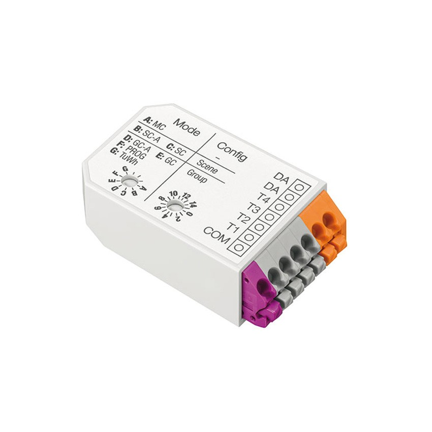 Module de Commande avec 4 Entrées Programmables DALI XC TRIDONIC