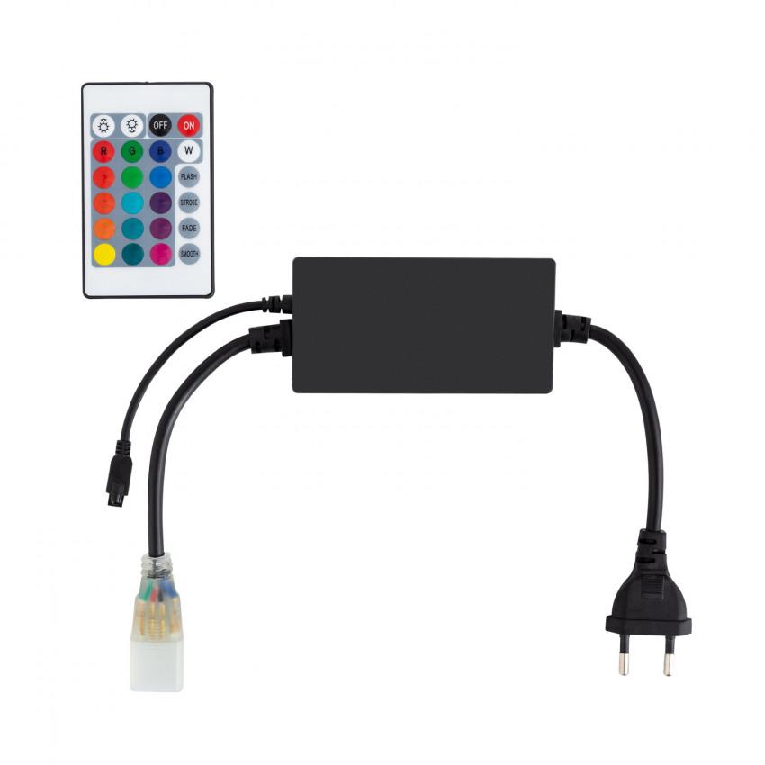 Contrôleur Rubans LED RGB 220V UltraPower Télécommande IR 24 Touches