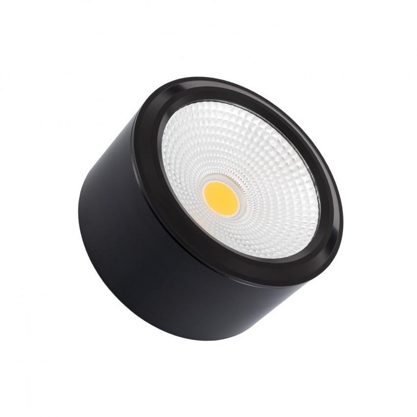 Plafonnier LED Rond Style COB 7W  Black