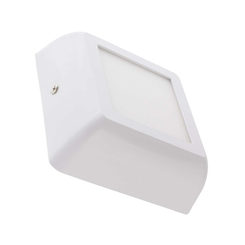 Plafonnier LED Carré White Design 6W