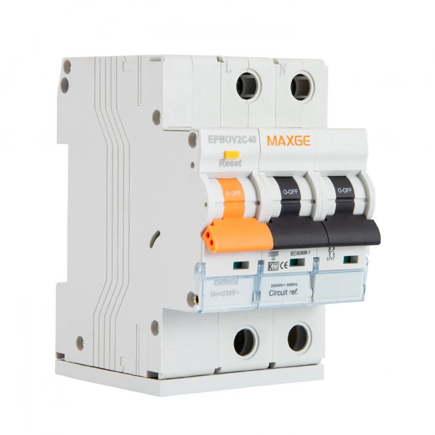 Disjoncteur Surtension Permanente MAXGE 2P