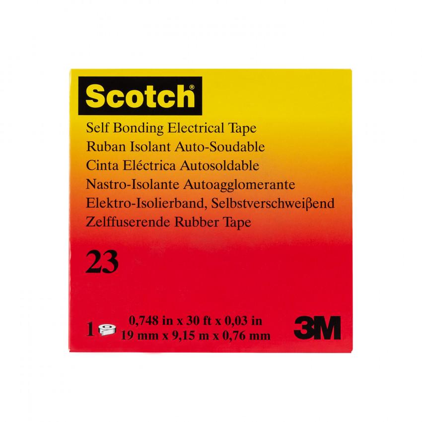 Ruban Isolant Auto-soudable Scotch® 23 3M™ 19mm x 9.15m