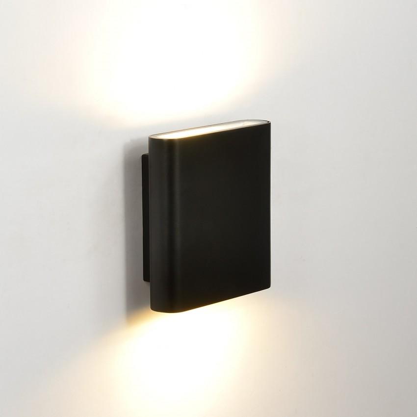 Applique LED Vesta 12W Noire Éclairage Double Face