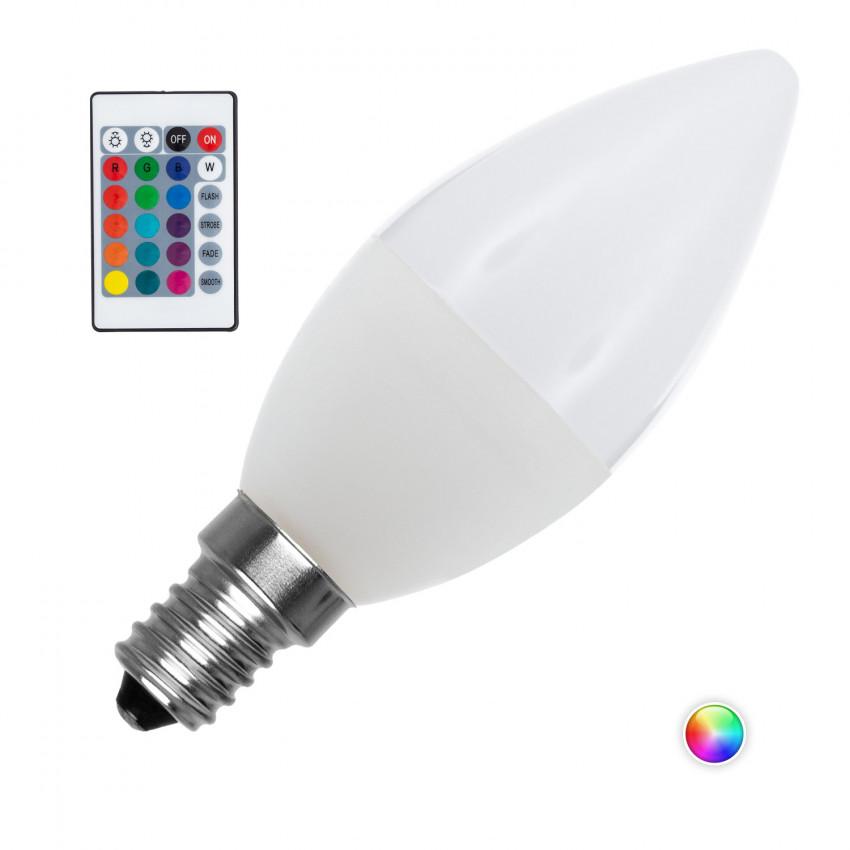 Ampoules LED E14 RGB