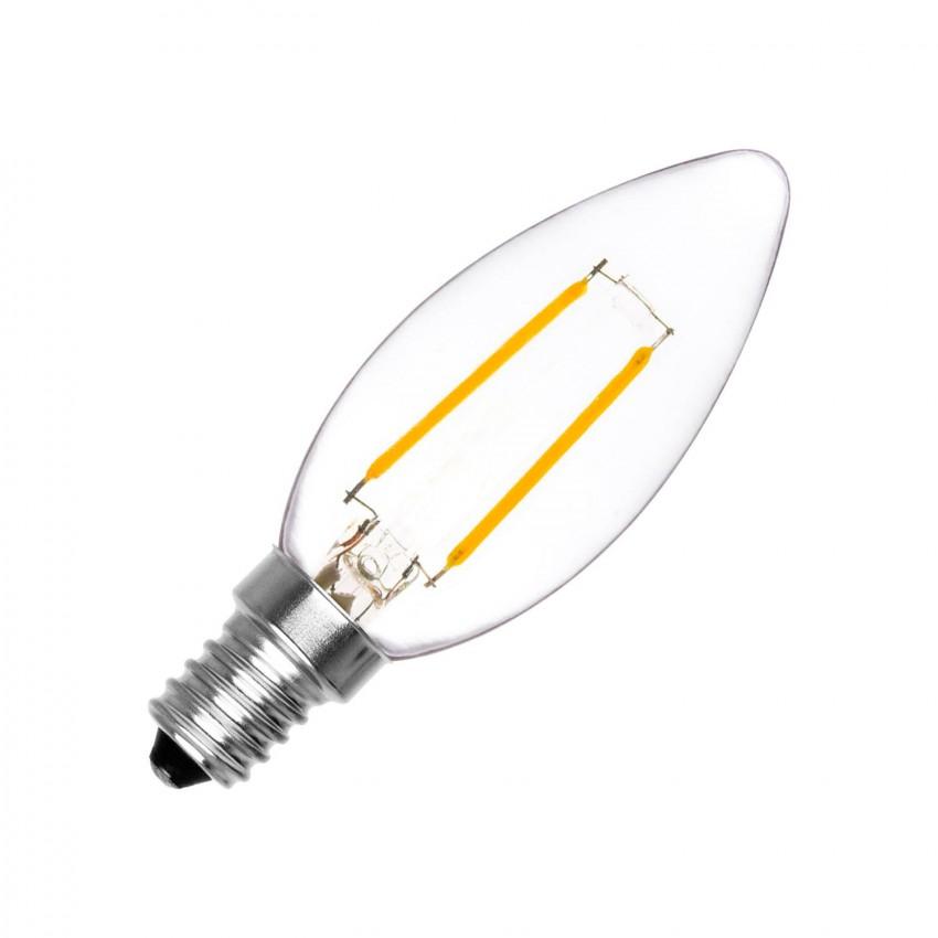 Ampoule LED E14 Filament Classic C35 2W