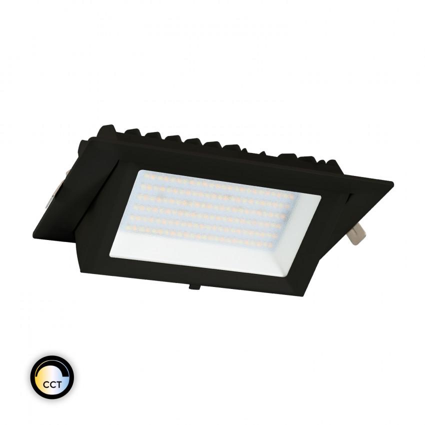 Projecteur LED SAMSUNG 130lm/W Orientable Rectangulaire 38W Noir CCT LIFUD