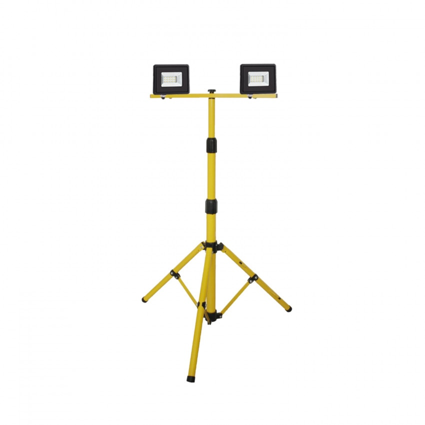 Pack 2 Projecteurs LED avec Solid Trépied