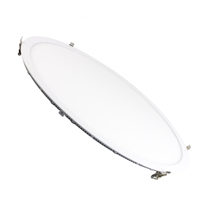 Dalle LED Ronde Extra-Plate 48W Coupe Ø 585 mm
