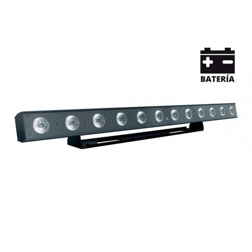 Linéaire LED Equipson MBAR BAT 144 WI RGBWA+UV DMX 144W avec Batterie