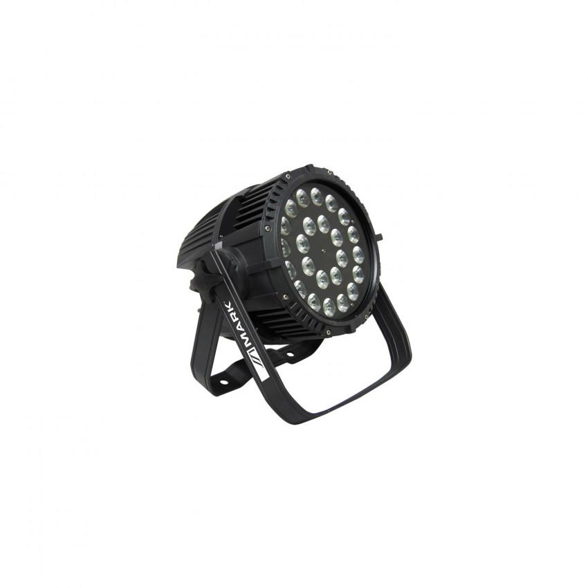 Projecteur LED Equipson PARLED 432 6 IP65 RGBWA+UV DMX 432W 28MAR057