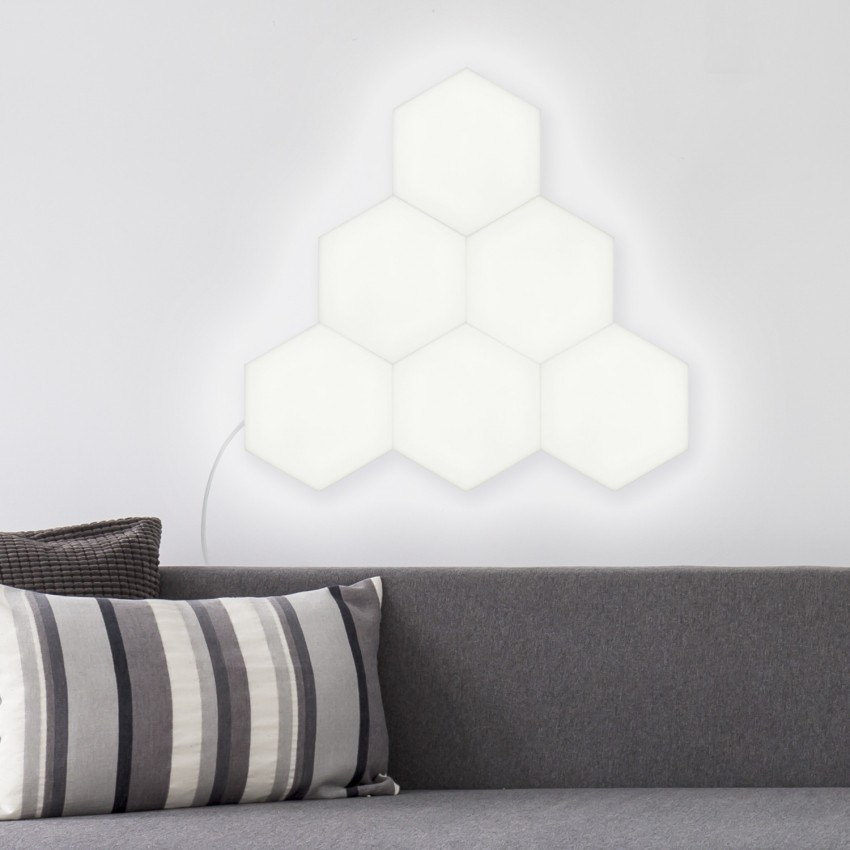 Panneau LED Hexagonal 9x9cm 3.5W Base Principale