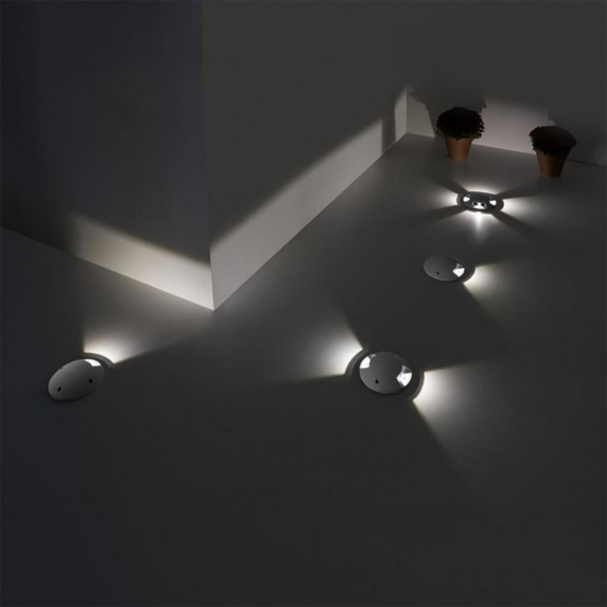 Balise LED Encastrable au Sol Xena 1.2W IP67 LEDS-C4 55-9424-34-CM