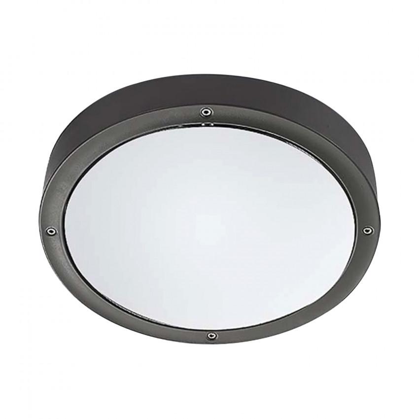 Plafonnier LED Basic Aluminium Gris 14.5W IP65 LEDS-C4 15-9835-34-CL