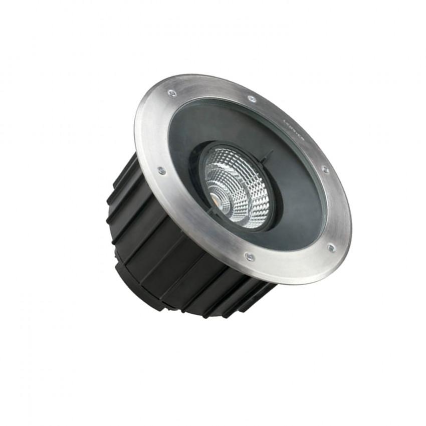 Spot LED Rond Encastrable au Sol Gea COB 35W IP67 LEDS-C4 55-9972-CA-CM