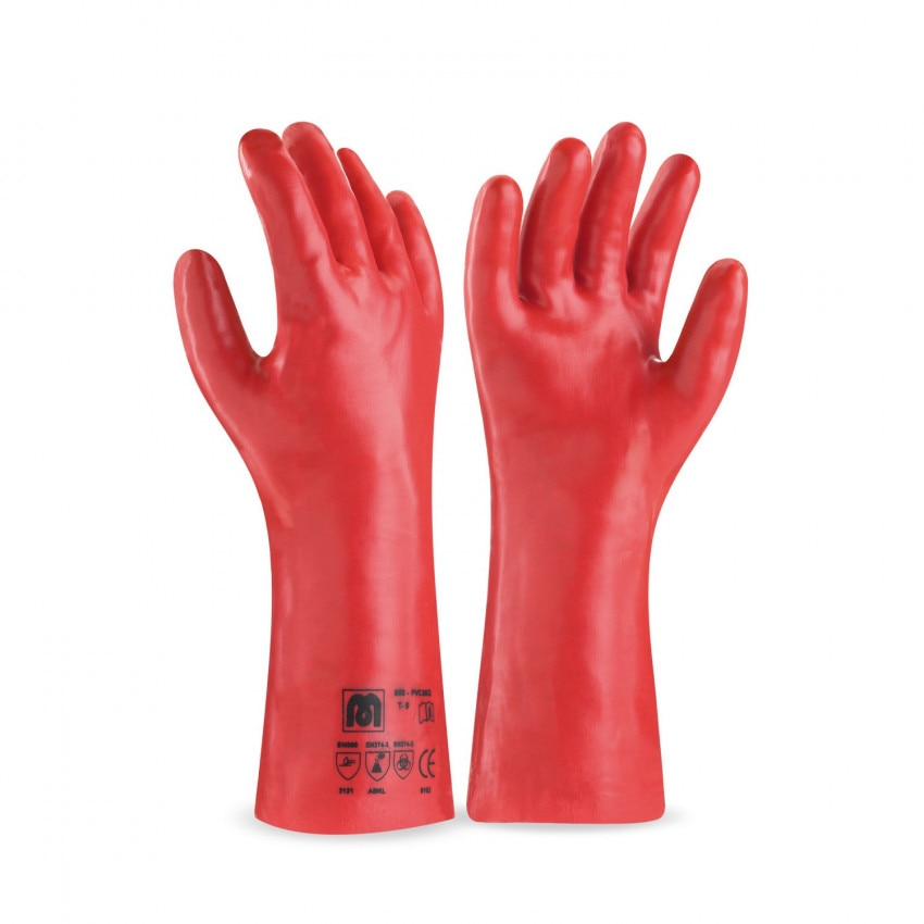 Gants de Protection Longs en PVC